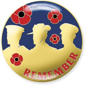BN14608 - Remember Poppy Badge