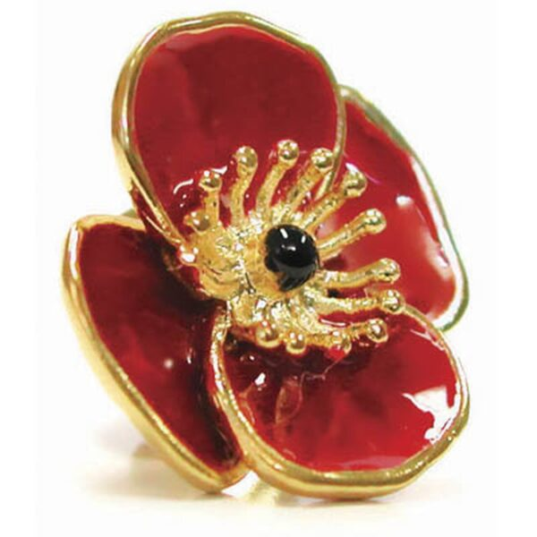 BN14616 - 3D Poppy Badge