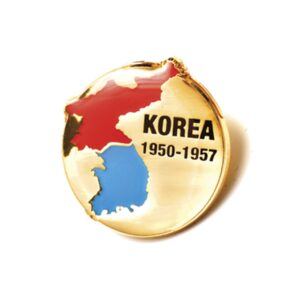 BN22401 - Korea 1950-1957 Map Badge