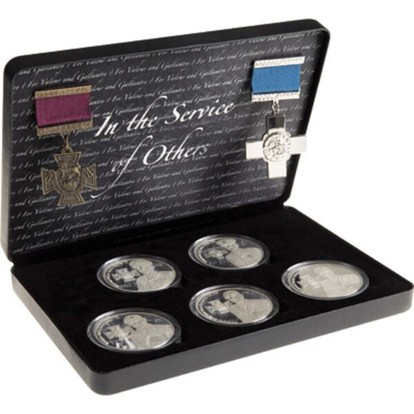 BN23552 - In the Service of Others VC-GC Ltd Medallion Set