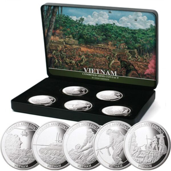 Combined Arms Contact Vietnam - Limited Edition Medallion Set