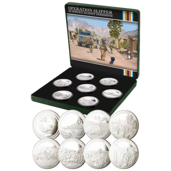 Afghanistan Limited Edition Medallion Collection