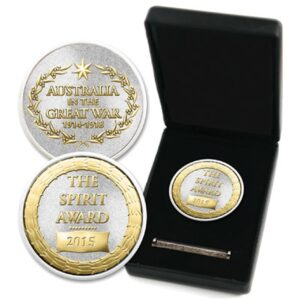BN28773 - Spirit Award Medallion In Box With Sand