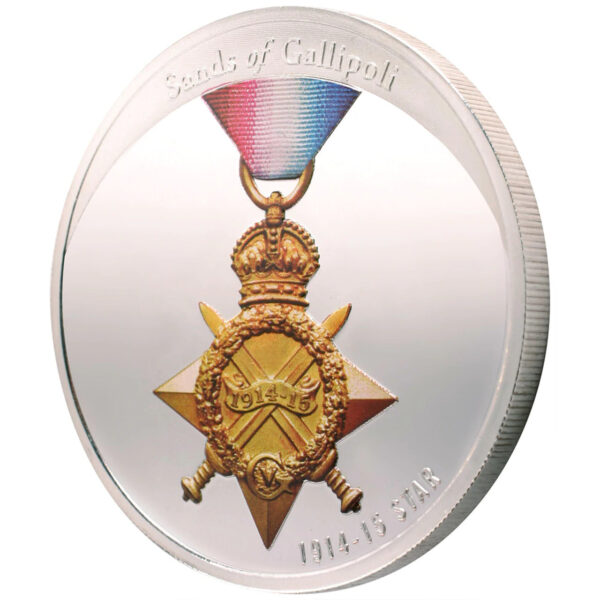 Sands Of Gallipoli 2009 - Set of Six Limited Edition Medallions - 1914-15 Star