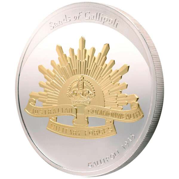 Sands Of Gallipoli 2009 - Set of Six Limited Edition Medallions - Rising Sun