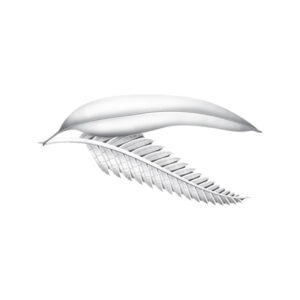 BN31411 - Gum Leaf and Fern Frond Lapel Pin