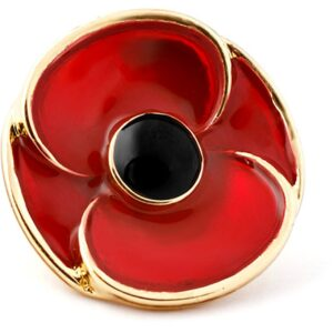 BN38573 - 3D Poppy Recollections Lapel Pin