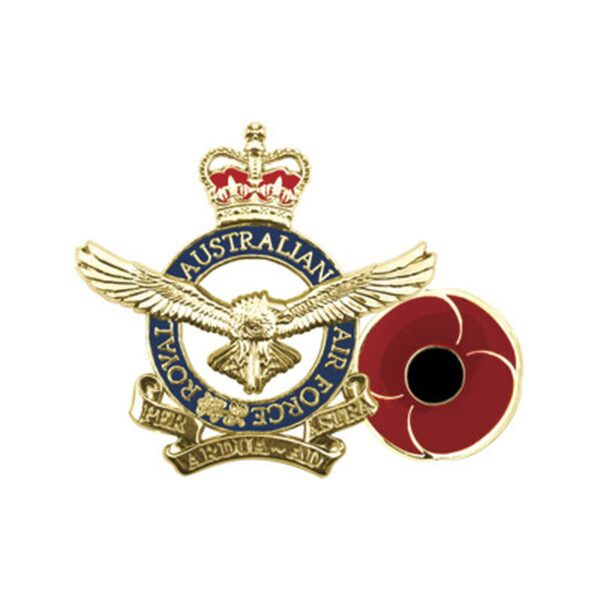 BN45202 - Air Force Poppy Lapel Pin