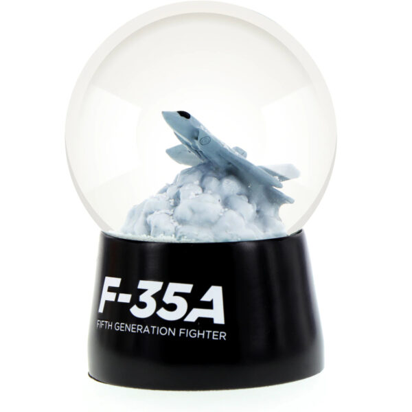 F-35A Joint Strike Fighter Snow Globe