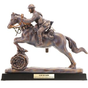 BN55120 - Leap of Faith Light Horse Figurine - 1