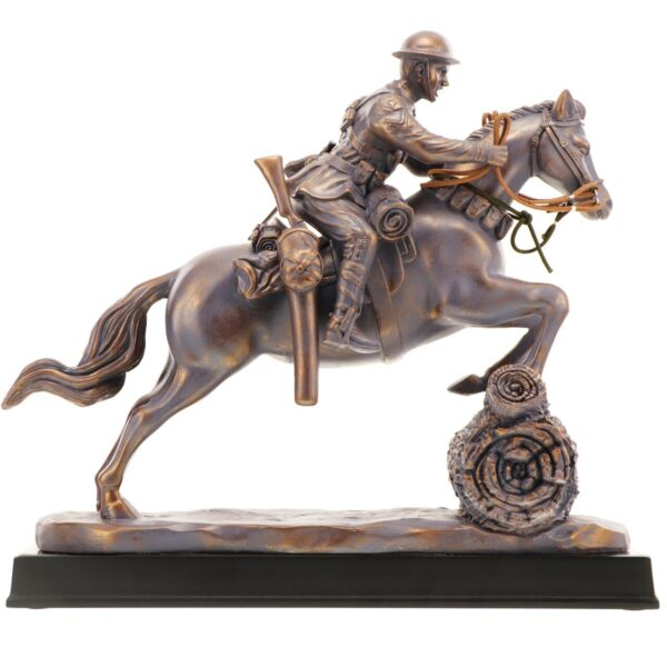 BN55120 - Leap of Faith Light Horse Figurine - 3