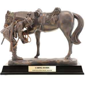 BN55122 - Caring Hands Light Horse Figurine - 1