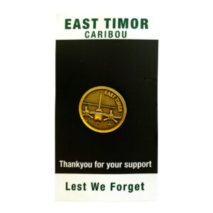 East Timor Caribou Badge
