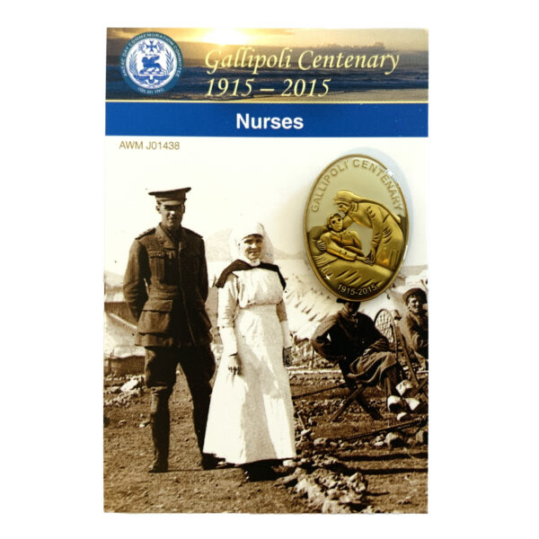 Gallipoli Centenary Nurses Badge