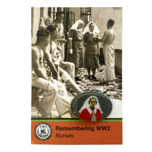 Remembering World War 2 Nurses Badge
