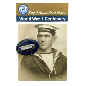 World War 1 Centenary - Royal Australian Navy Badge